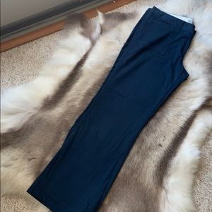 Old Navy Low rise wide leg, navy blue pants